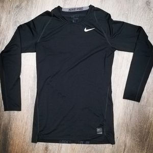 NIKE PRO Combat Black Dri-Fit Compression Shirt